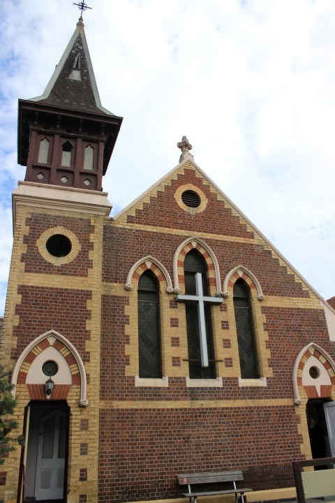 St Kilda Uniting Church Building from Chapel St